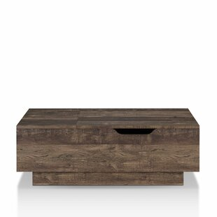 Dekker Lift Top Coffee Table by Union Rustic