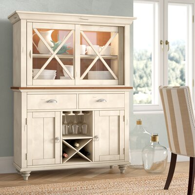 Bridgeview China Cabinet Beachcrest Home