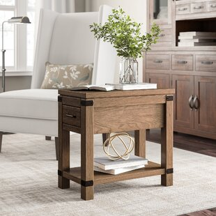Emma End Table with Storage
