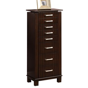 Wildon Home ® Champion Jewelry Armoire with Mirror