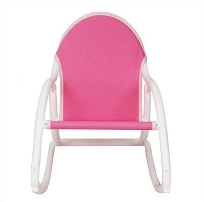 canvas kids rocking chair