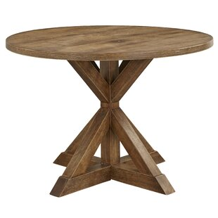 Skyview Pedestal Dining Table by Ophelia & Co. Design