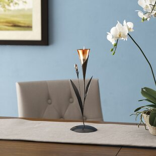 Sparkling Lily Candle Holder