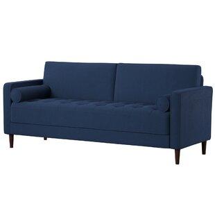 Modern & Contemporary Cobalt Blue Sofa   AllModern