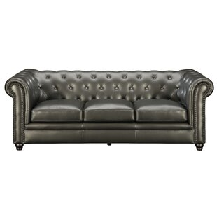 Darby Home Co Seevers Leather ..