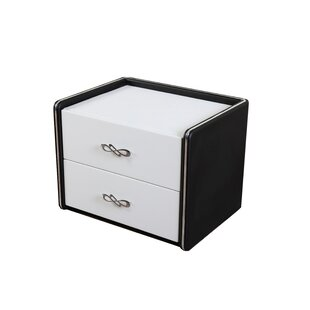 Janae Modern 2 Drawer Nightstand by Orren Ellis