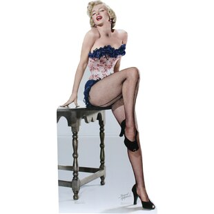 Holywood Marilyn Monroe - Net Stockings Cardboard Stand-up By Advanced Graphics