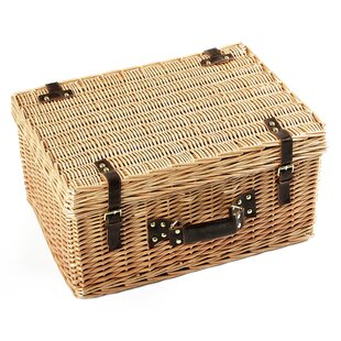 Carmelia Willow Picnic Basket By Brambly Cottage