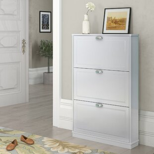 Collman 12-15 Pair Shoe Storage Cabinet By Ophelia & Co.