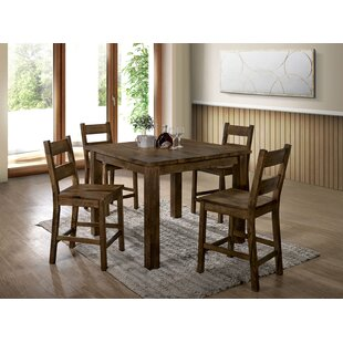 Oriole 5 Piece Pub Table Set Loon Peak