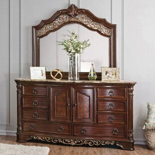 Caulfield 8 Drawer Combo Dresser