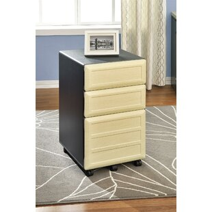 Red Barrel Studio Bataan 3-Drawer Mobile File Cabinet