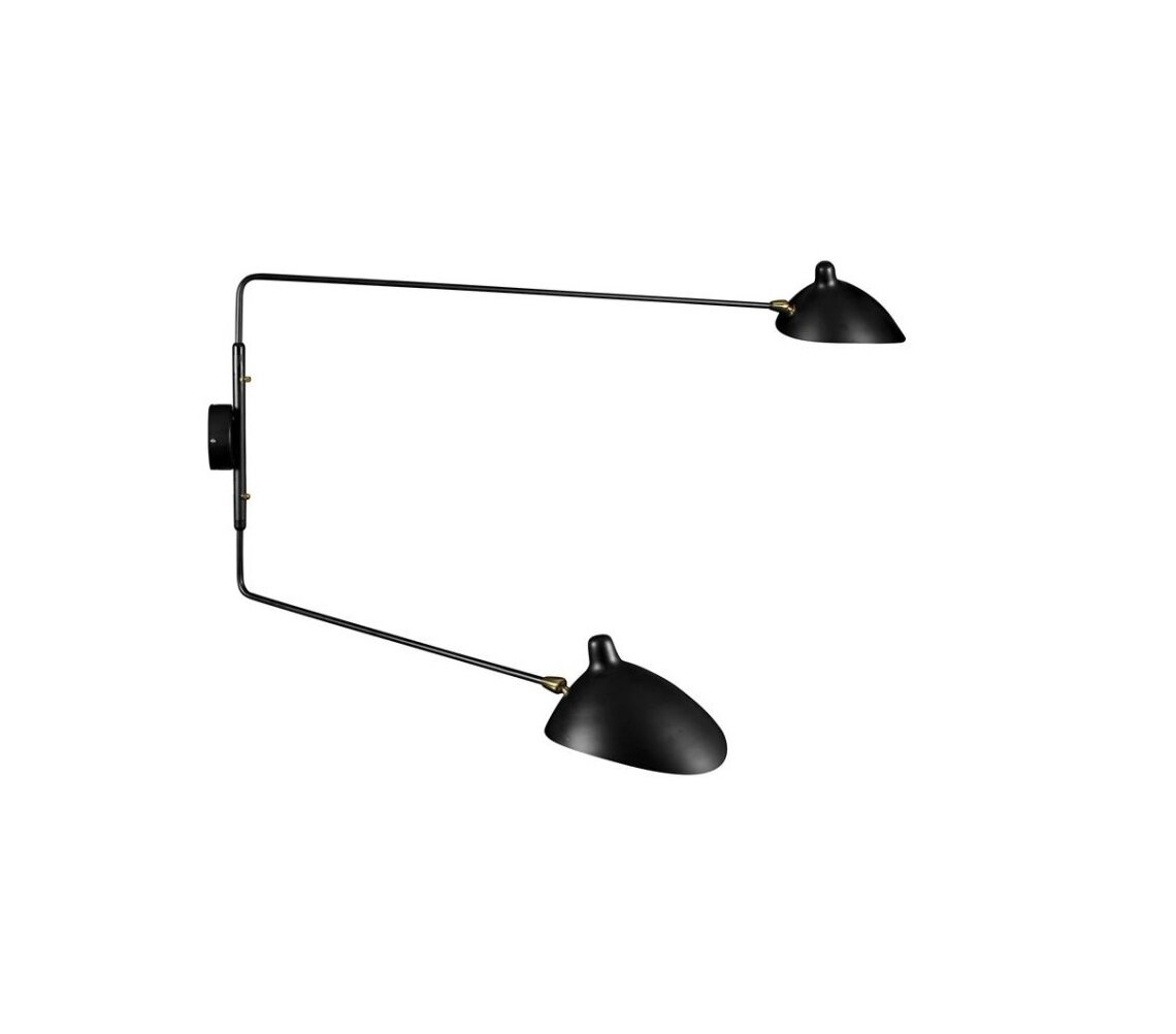 Brayden Studio Charry 2 Light Design Wall Light Wayfair