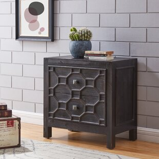 Riemer End Table with Storage by Bloomsbury Market