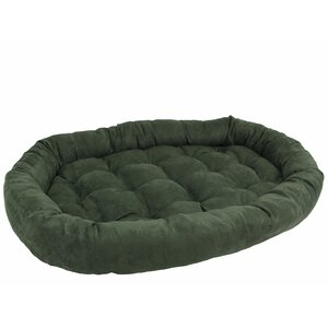 Microsuede Dog Bed