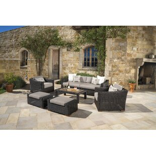 Monroeville 7 piece Sunbrella Sofa Set with Cushions by Darby Home Co