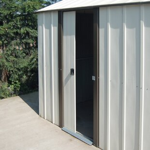 Nolte 12 Ft. W X 17 Ft. D Apex Metal Shed By Sol 72 Outdoor
