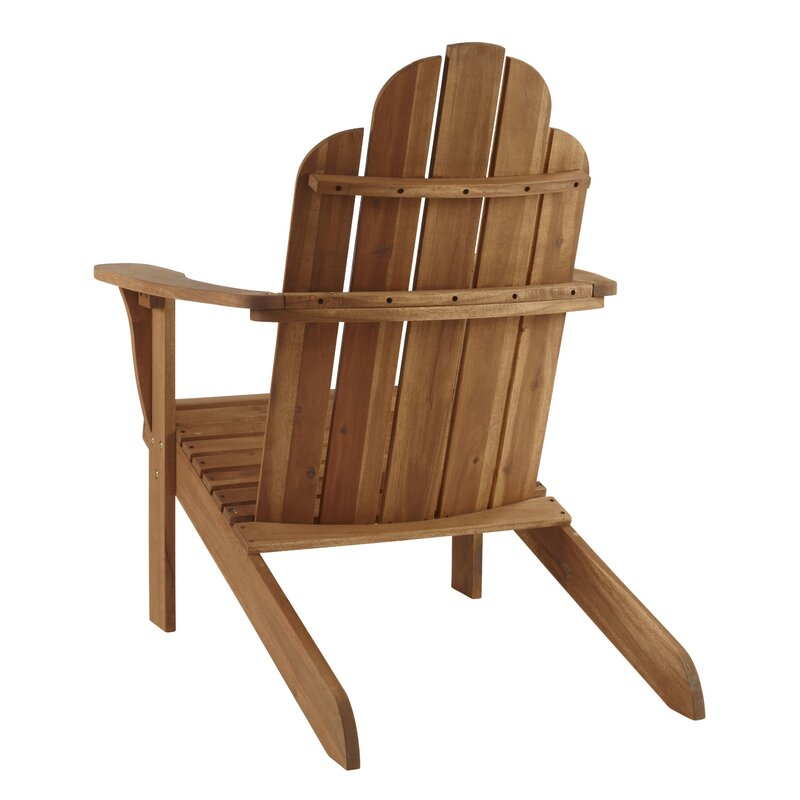 Knowlson Solid Wood Adirondack Chair