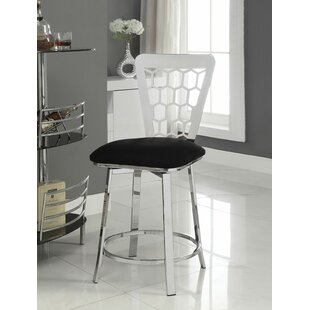 Jonas 24 Swivel Bar Stool (Set of 2)