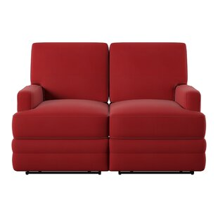 Shop Kaiya Reclining Loveseat by Wayfair Custom Upholstery™