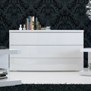 Modloft Ludlow 3 Drawer Dresser Image