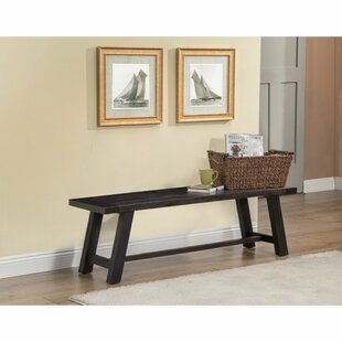 Blase Acacia Wood Bench by Gracie Oaks