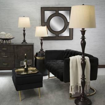 Foundry Select Brockton 59 Tripod Floor Lamp Reviews Wayfair