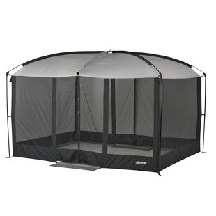 Gameday Magnetic Screen House 9 Ft. W x 11 Ft. D Steel Pop-Up Canopy by Tailgaterz