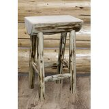 Tustin Solid Wood Counter & Bar Stool by Loon Peak®