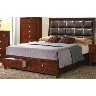 Lanphear Upholstered Storage Platform Bed