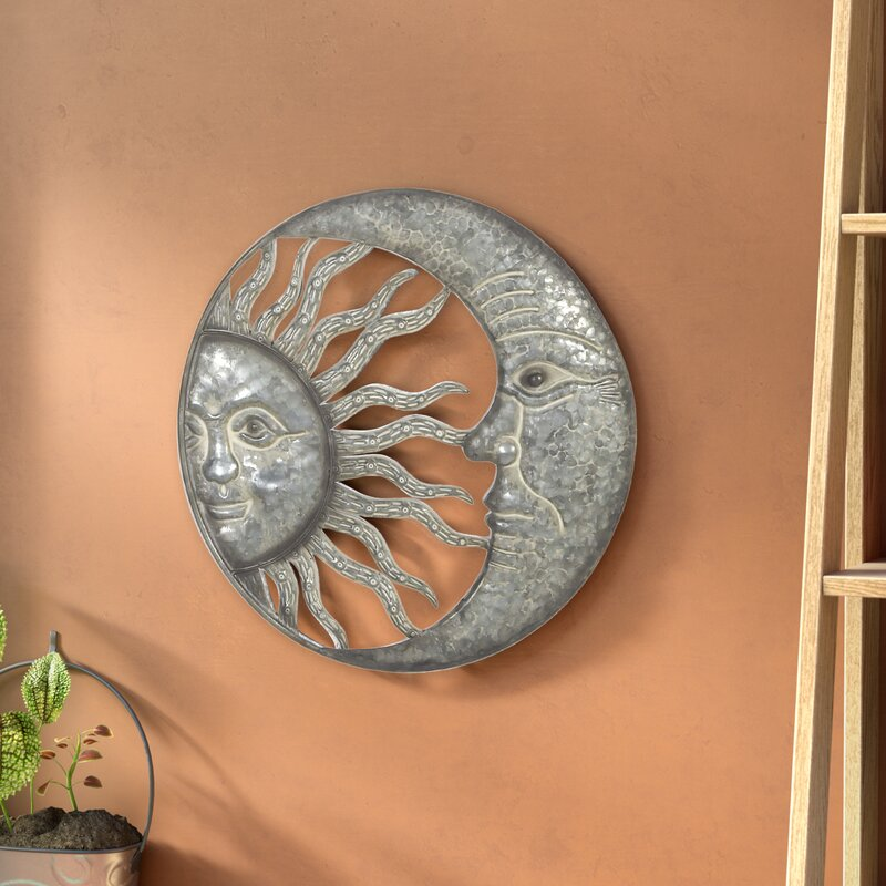 Bloomsbury Market Celestial Sun And Moon Wall Decor