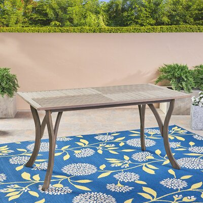 Balceta Solid Wood Dining Table by Breakwater Bay Great Reviews