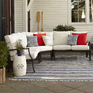 Kelsie Patio Sectional with Sunbrella Cushions
