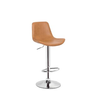 Stamm Unique Hydraulic Adjustable Height Swivel Bar Stool Orren Ellis