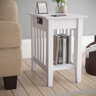 Amethy Charging Station End Table by Grovelane Teen
