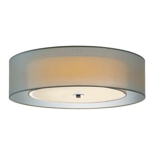 Sonneman Puri 3-Light Flush Mount