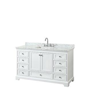 Guide to buy Deborah 60 Single Bathroom Vanity Set ByWyndham Collection