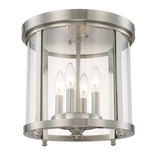 Purchase Holoman 4-Light Flush Mount By Darby Home Co
