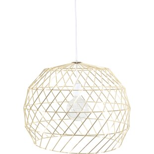 Bend Goods 1-Light Geometric Pendant