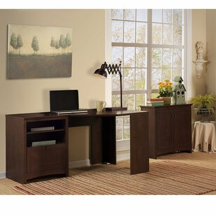 Darby Home Co Fralick 3 Piece L-Shape Desk Office Suite
