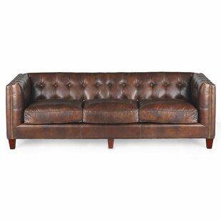 Joseph Allen Capetown Leather Chesterfield Sofa