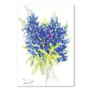 Silk bluebonnets wayfair bluebonnet painting print mightylinksfo