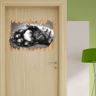 Beautiful Cat Paw Wall Sticker By East Urban Home