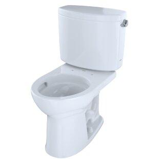 Toto Drake® II Dual Flush Round Two-Piece Toilet