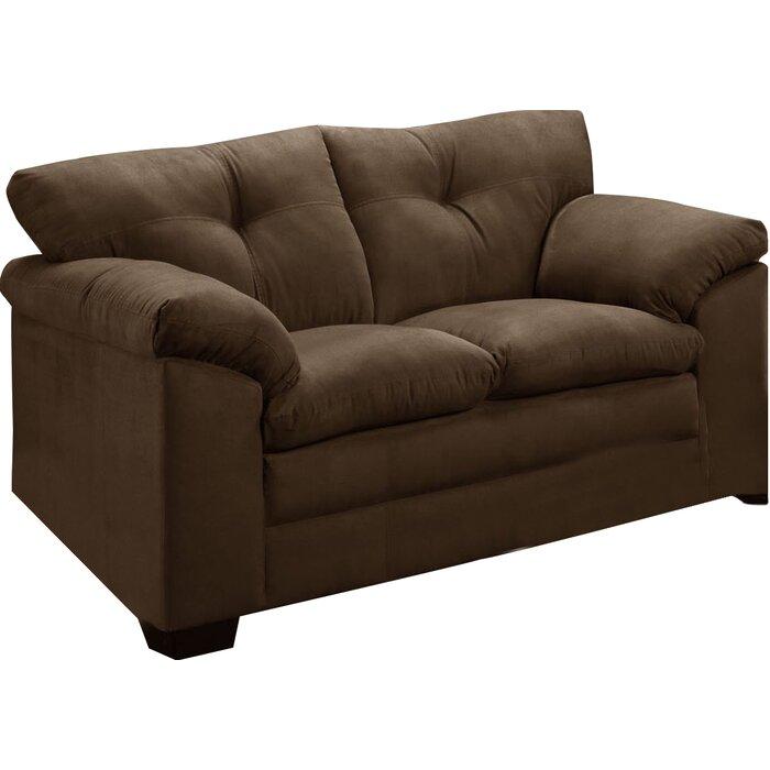 Superb Simmons Upholstery Omarion Loveseat Short Links Chair Design For Home Short Linksinfo
