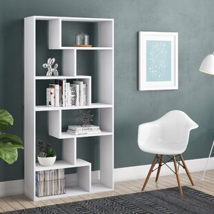 Canipe Geometric Bookcase by Ivy Bronx