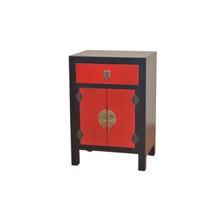 Immanuel 1 Drawer Combi Chest By World Menagerie