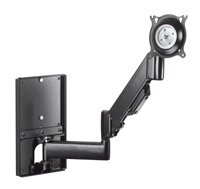 Read Reviews Height-Adjustable Steel Stud Monitor Wall Mount (10-32 Displays) By Chief Manufacturing