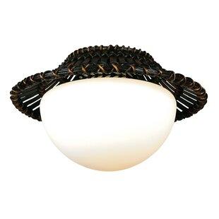 Replacement fan light globes wayfair 1 light globe ceiling fan light kit aloadofball Image collections