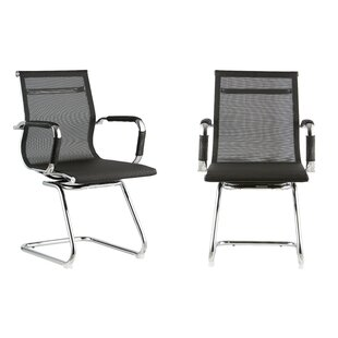 Mid Back 12.5 Mesh Desk Chair (Set of 2)